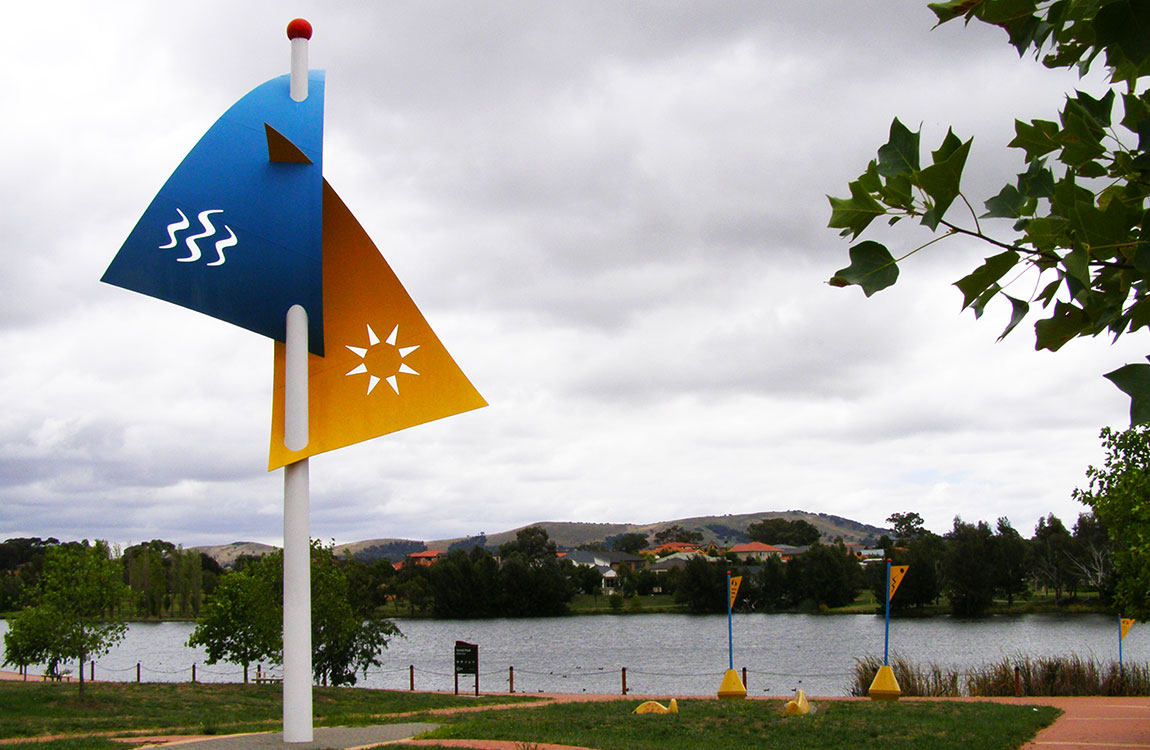 Waterfront Flags